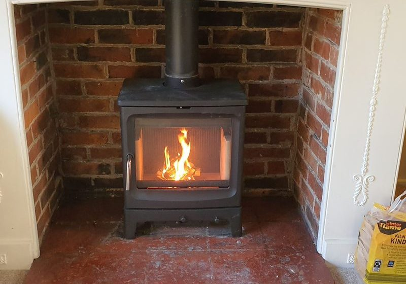 contemporary stove